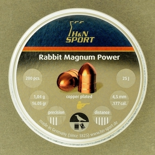 Пули H&N Rabbit Magnum Power 4,5 мм